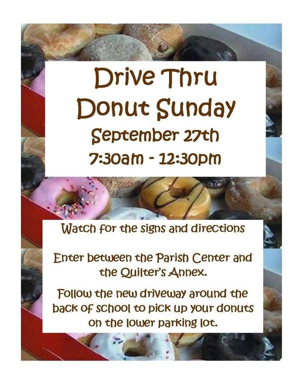 Donut Sunday 2020