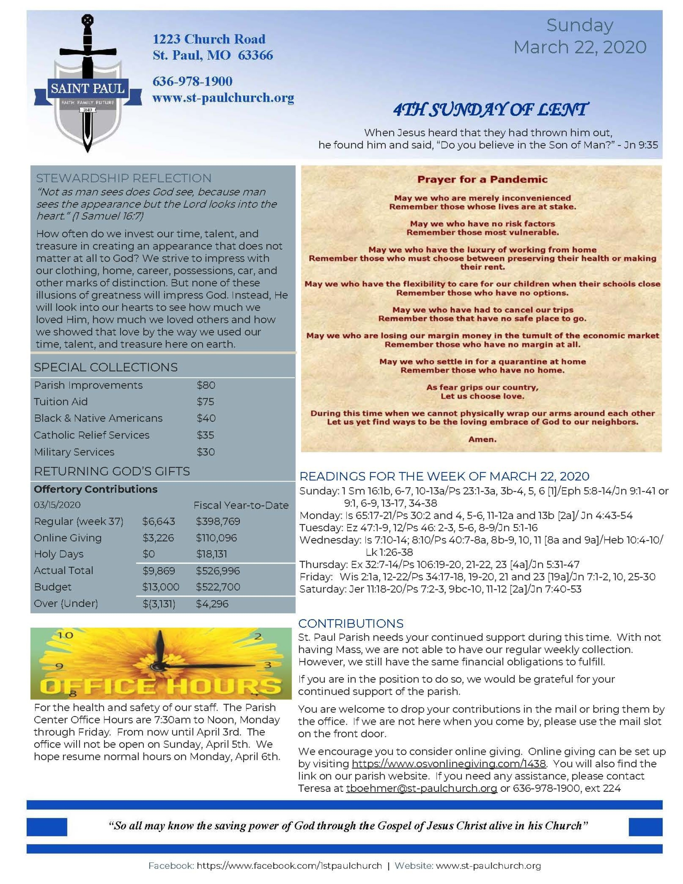 Newsletter March22 2020 1