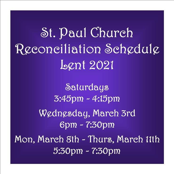 Reconciliation 2021
