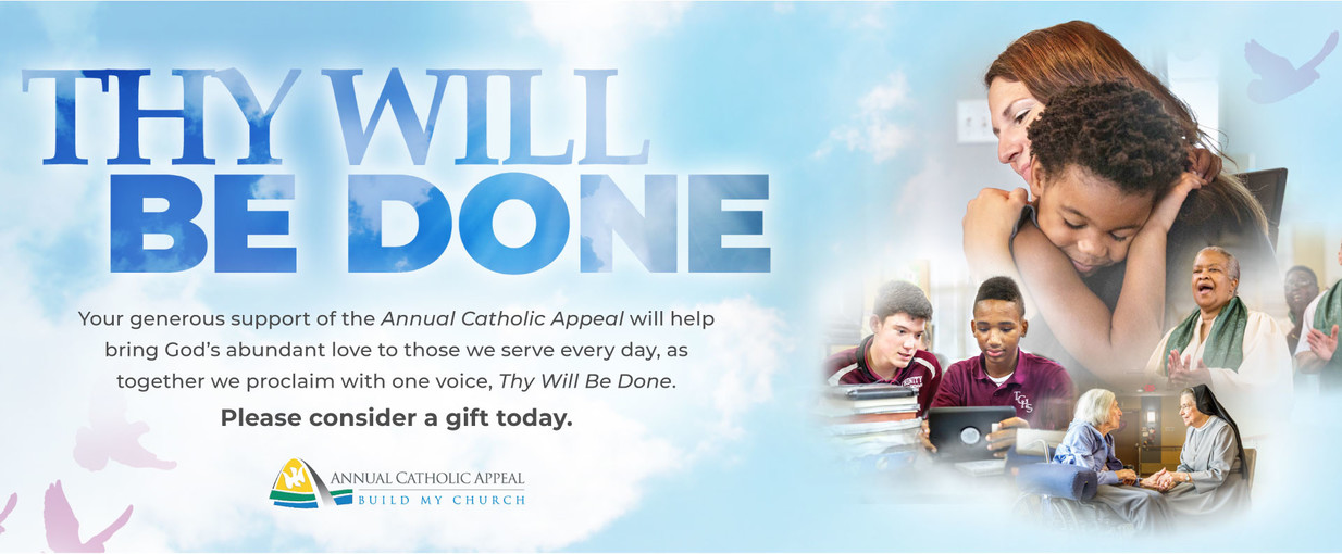 Thy Will Be Done Banner